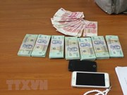 Quang Ninh: Inician procedimiento legal por tráfico ilegal de dinero a través de frontera