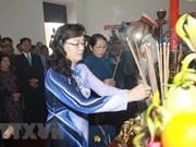 Rinden homenaje al Presidente Ho Chi Minh en ocasión del 128 aniversario de su natalicio