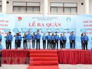 Jóvenes de Vietnam asisten a campaña de voluntarios de verano