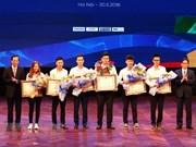 Honran a trabajadores calificados vietnamitas en competencias de habilidades