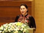 Parlamento de Vietnam concluye intensa agenda de primera jornada de su quinto período de sesiones