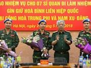 Vietnam enviará oficiales de mantenimiento de la paz a África