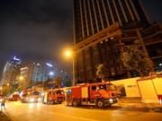 Presentan en Vietnam tecnologías inteligentes en protección contra incendios