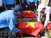 Gia Lai: Riden homenaje póstumo a combatientes vietnamitas caídos en Camboya
