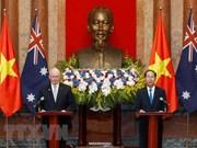 Vietnam y Australia consolidarán la confianza política, afirma Tran Dai Quang