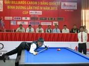 Excelentes jugadores internacionales participan en Torneo de Billar Ciudad Ho Chi Minh 2018