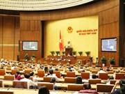 Aspectos socioeconómicos centran la agenda de la Asamblea Nacional de Vietnam