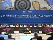 Ministros de Comercio de APEC no logran acuerdo de sistema de comercio multilateral