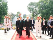 Gobernador general de Australia concluye visita a Vietnam