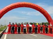 Entra en operación puente Cao Lanh, símbolo de las relaciones Vietnam- Australia