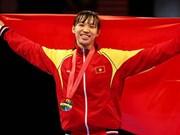 Taekwondista vietnamita gana título del campeonato asiático