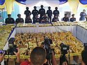 Malasia decomisa mayor cantidad de metanfetamina hasta la fecha en el país
