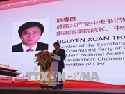 Delegación partidista de Vietnam realiza visita de trabajo en Guangdong