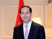 Prensa japonesa destaca importancia de la visita del Presidente Tran Dai Quang