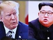 Corea del Norte y EE.UU. intercambian en Singapur sobre protocolo de cumbre