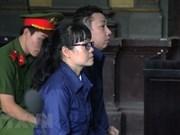 Mantienen sentencia a exfuncionaria de Vietinbank por fraude bancario millonario