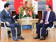 Presidente vietnamita resalta nexos de su país en Japón