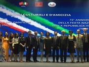 Conmemoran en Hanoi Fiesta de la República Italiana