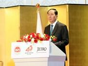 Empresas japonesas son complemento económico estratégico de Vietnam, afirma presidente