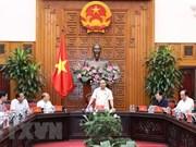 Premier vietnamita se reúne con autoridades de provincias centrales