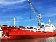 Vietnam entrega el primer barco carguero de seis mil 500 tonelada a Corea del Sur