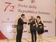 Celebran en Ciudad Ho Chi Minh Fiesta Nacional de Italia