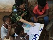 Clase especial de fuerzas de mantenimiento de paz de ONU de Vietnam en África Central