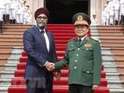Vietnam y Canadá robustecen lazos en defensa