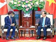 Presidente de Vietnam respalda cooperación en defensa con Canadá