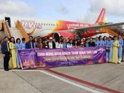 Inauguran ruta aérea directa entre ciudad vietnamita de Can Tho y Bangkok