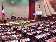 Inauguran quinto período de sesiones de la Asamblea Nacional de Laos
