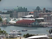 Singapur amplía área especial para cumbre Trump-Kim