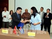 Empresas de Vietnam y Cuba firman acuerdos comerciales