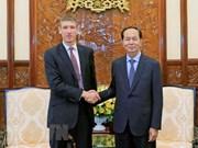 Destaca presidente de Vietnam cooperación con Reino Unido en todas las esferas