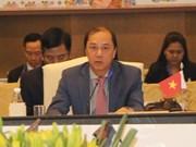 Altos funcionarios de ASEAN y China se reúnen en Singapur