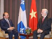 Premier de Vietnam aboga por desarrollo de lazos con Quebec