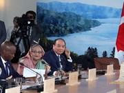 Página web de APF Canadá publica artículo sobre participación vietnamita en Cumbre del G7