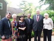 Embajador vietnamita sostiene encuentros en EE.UU. para promover nexos bilaterales