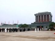Mausoleo del Presidente Ho Chi Minh permanecerá cerrado tres meses por labores de mantenimiento