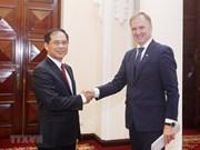 Letonia ratifica apoyo a la pronta firma de TLC entre Vietnam y UE