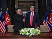 Concluye histórico encuentro entre Donald Trump y Kim Jong-un