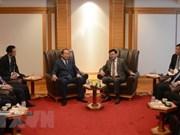 Vicepremier de Vietnam se reúne con líderes sudesteasiáticos