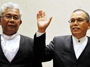 Renuncian máximos jefes de tribunales de Malasia