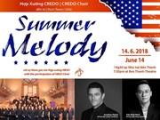 Cantantes de coro estaounidenses y vietnamitas actuarán en Ciudad Ho Chi Minh