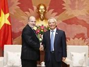 Dirigente parlamentario vietnamita resalta relaciones de amistad con Cuba