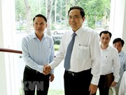 Jefe del Frente de Patria ensalza desempeño de Agencia Vietnamita de Noticias
