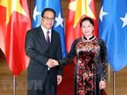Vocero del Congreso de Micronesia concluye visita en Vietnam