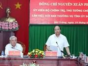 Premier vietnamita propone orientaciones de desarrollo para Soc Trang ante desafíos