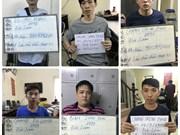 Vietnam arresta a 12 individuos por acciones de fraude en línea