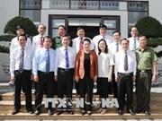 Presidenta parlamentaria de Vietnam recorre por la provincia sureña de Bac Lieu